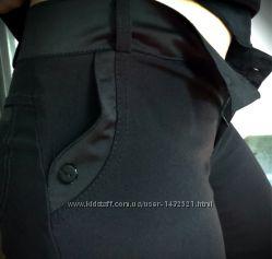 брюки кюлоты  черные 44-46-48р