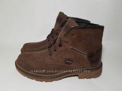 Мужские кожаные ботинки Tommy Hilfiger Натур на меху