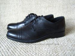 Туфли чорные кожанные Gallus размер 43