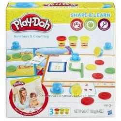 Набор для лепки Play-Doh Моделируй и учись цифры и подсчет B3406