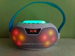 Портативная Bluetooth колонка, радиоприёмник, MP3 плеер светомузыкой WS-180