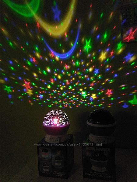 Star master звездное небо. Вращающийся шар, ночник, проектор. Детский ночник