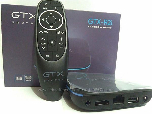 Смарт ТV приставка Android медиаплеер Geotex GTX-R2i 2/16 Gb Голос