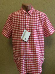 Новая мужская рубашка LACOSTE оригинал размер 44 XL