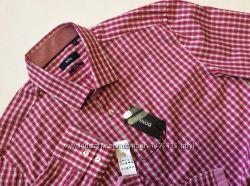 Новая мужская рубашка BOSS HUGO BOSS оригинал slim fit размер 42, 16 12,