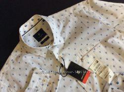 Мужская новая рубашка PIERRE CARIN оригинал размер L
