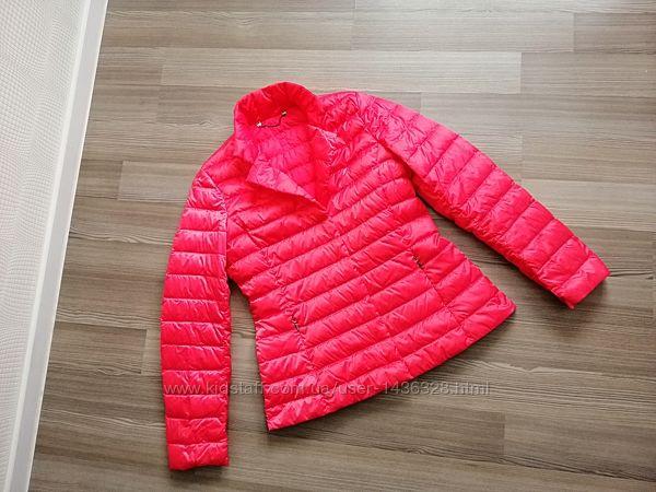 Куртка пуховик max mara, с натуральным пухом, италия, р. l, xl, m,42,12,44,