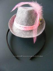 Шляпка на обруче