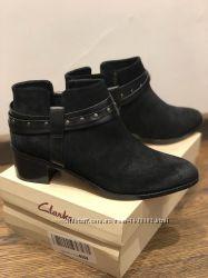 Ботинки Clarks, кожа, оригинал, 38 р