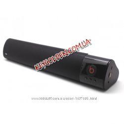 Bluetooth колонка WM-1300 с FM-USB-AUX. 41 на 7 см.
