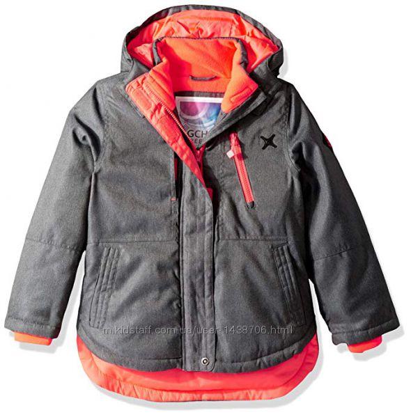 Новая  зимняя курточка амер. бренда Big chill р. на 4 года 104-110