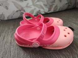 Оригинал Новые сабо босоножки Crocs marry jane C8, C10