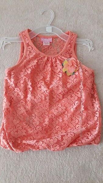 Летняя маечка-блузочка для девочки LC Waikiki на рост 104-110 см