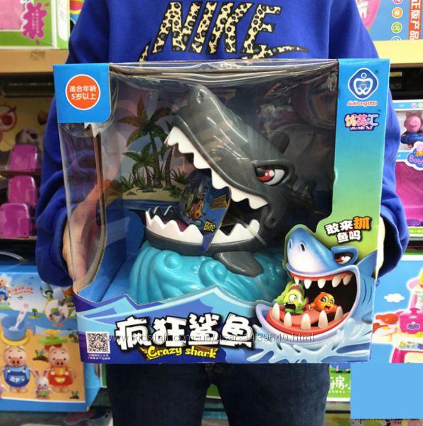 Crazy Shark  Семейная настольная игра