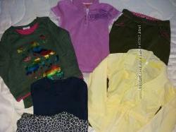 Пакет одежды на девочку 6-8 лет