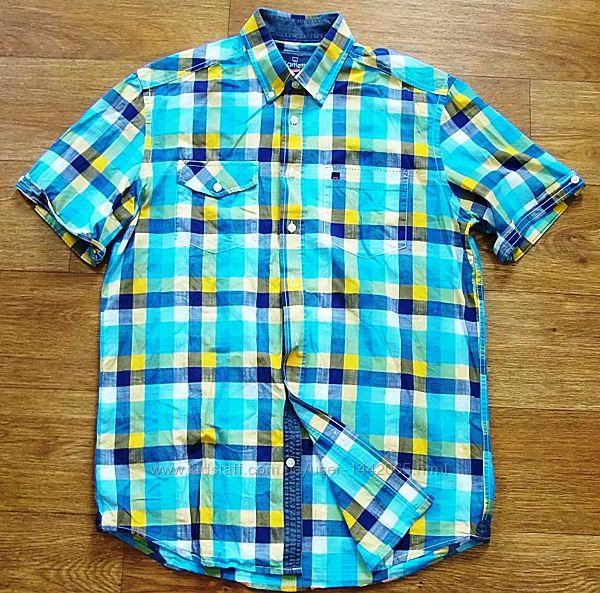 Фирменная рубашка Bartlett 48/50 L-ка 100-хлопок
