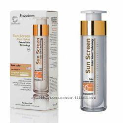 Frezyderm Тонирующий Солнцезащитный крем для лица SPF 50, SPF 30