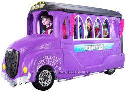 Игровой набор делюкс школьный автобус & спа салон Monster High
