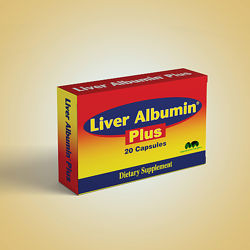 Капсулы для печени, Liver Albumin Plus Capsules 20, Египет