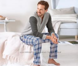 Мужские фланелевые брюки для дома и отдыха XL 56-58р Tcm Tchibo Германия