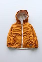 Ветровка куртка на флисе для мальчика и девочки, р. 80-86, в ассортименте