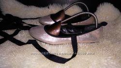New look балетки золото текстиль 41 р по ст 26. 5 см ширина 9 см