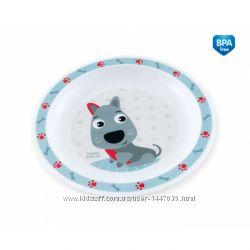 Тарелка пластиковая мелкая Сanpol 4411