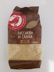 Тростниковый сахар Auchan zucchero di canna demerara, 500г Италия