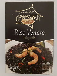 Рис черный Delizie dal Sole riso venere integrale 0.5 кг