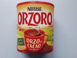 Ячменный напиток c какао Nestle Orzoro e cacao, 180г Италия