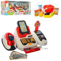 Детский кассовый аппарат Limo Toy 668-48 дитячий касовий апарат