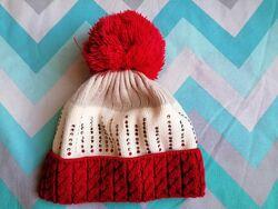 Шапка теплая для девочки зимняя демисезонная Barbaras 48-50 Польша