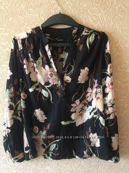 Фирменная блуза с длинным рукавом английского бренда T. M. Lewin, размер M