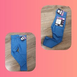 Красивые джинсы skinny fit Lupilu на девочку 2-3лет, на рост 98см.