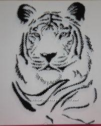 Картина в стиле String Art