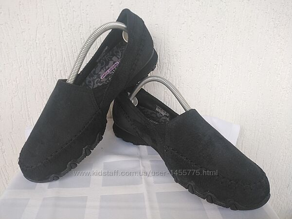 Мокасини замшевие Skechers relaxed fit Air-cooled р.39