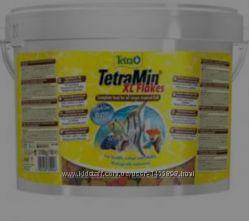 TetraMin ведро 10л2, 1кг повседневный корм для всех видов рыб