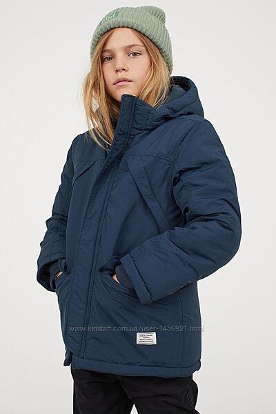 Куртка - парка H&M - еврозима , холодная осень - 134-164 р.
