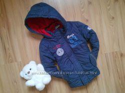 Крутая куртка евро зима от Topolino на 2 - 4 года.