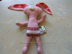мягкая игрушка   зайчик заяц  с биркой