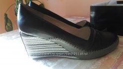 новые туфли bigRope -полностью кожа, снаружи, внутри, стелька.