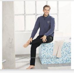 Мужской теплый флисовый костюм, спортивный или домашний, Livergy Германия,