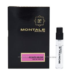 Montale Roses Musk Парфюмированная вода пробник 2 мл