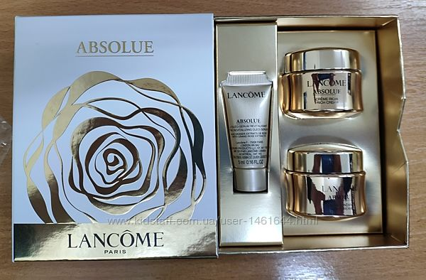 Набор Lancome Absolue Serum 5ml / Rich Cream 15ml / Soft Cream 15ml