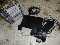 Sony Playstation 2  20 игровых дисков  карта памяти  джойстик