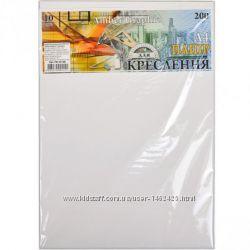 Бумага для черчения А4 AmberGraphic Графика ПК4310Е 10 листов, 200 г-м,