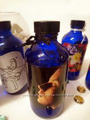 Дизайнерские бутылки цвет индиго