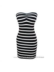 Платье в полоску Miss Selfridge, размер S-M