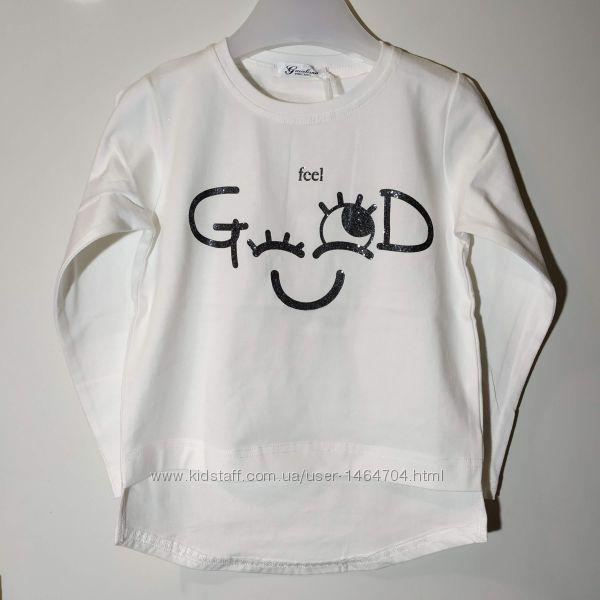 Реглан для девочки 7 лет, Gaialuna Италия