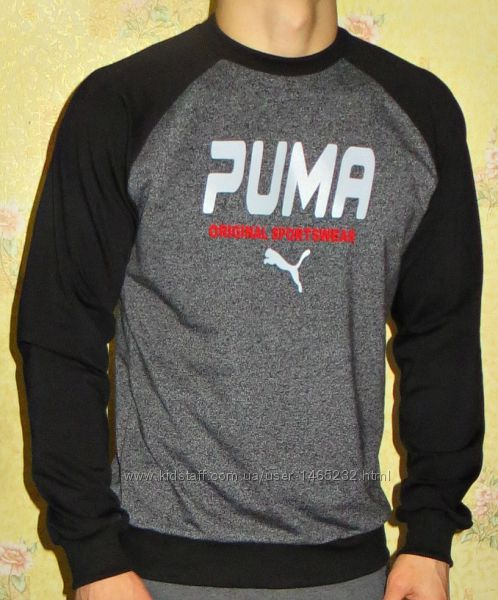 Свитшот- реглан Puma мужской.